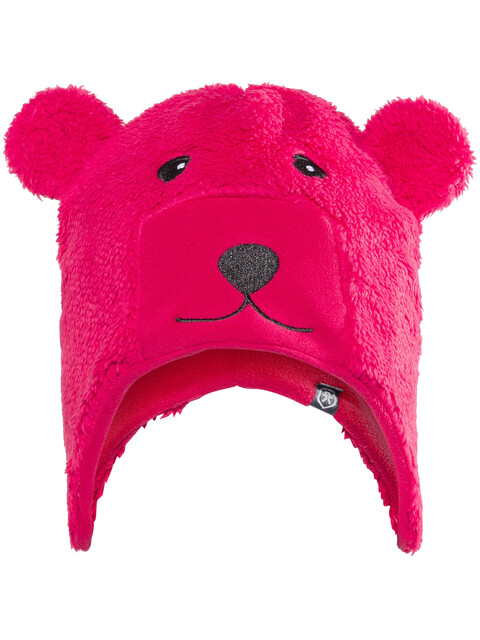 Color Kids Kippo Fleece Hat Kids Rasberry
